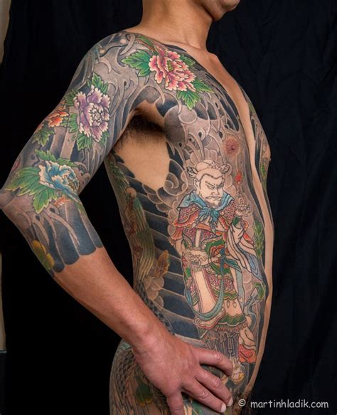 japanese full body tattoo history asakusa horikazu ii oriental backs fronts body suits