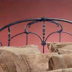 hillsdale jacqueline king size metal antique gray