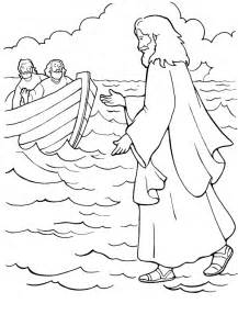 water coloring walks on water coloring pages coloring home
