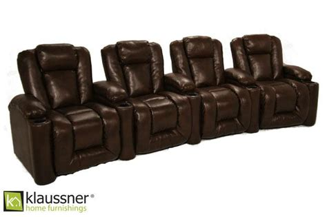 Home Theater Agustus klaussner augustus klaussner home theater seats buy your home theater seating at
