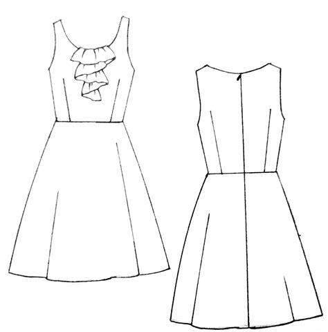 dress pattern draw spring is here su loves sew