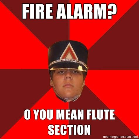 Flute Memes - was gonna reblog a million band memes have courage be