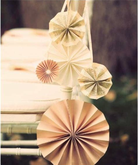 How To Make Paper Pinwheel Decorations - really want to make these for aisle decorations