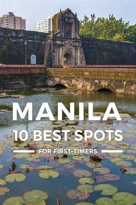 top  manila tourist spots  places  visit