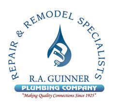 r a guinner plumbing co to encourage donating to charity