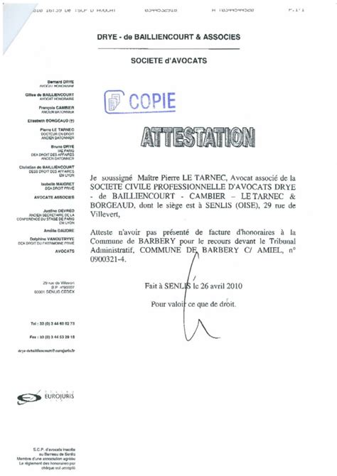 Model Attestation De Moralité