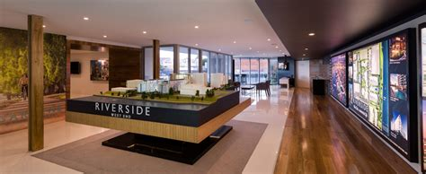 Luxury Home Decor Ideas Riverside West End Sales Office Fitout