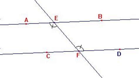 angoli alterni interni ed esterni definire e dimostrare
