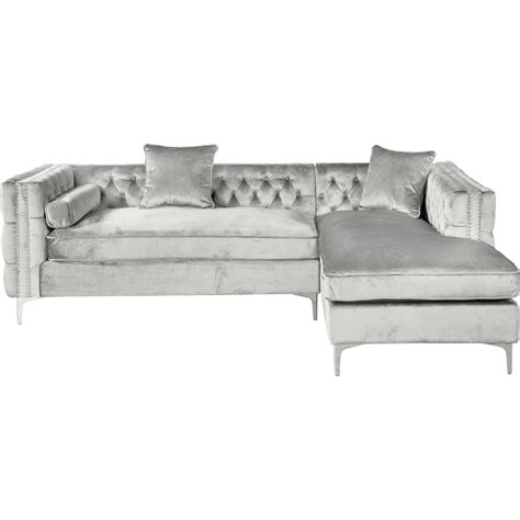 Silver Sectional Sofa Silver And Grey Couch Mulberry Silver Sectional Sofa