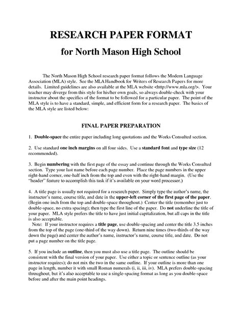 writing a research paper middle school term research paper