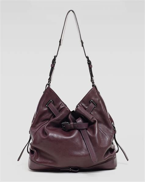 Neiman Sale Continues With Goods From Marc Kooba Tracy 2 by Kooba Shoulder Bag Purple In Purple Aubergine Lyst