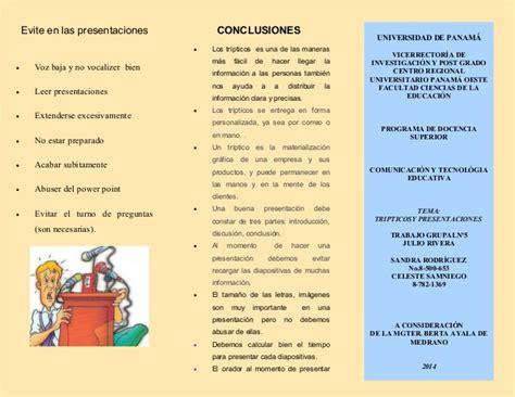 Tripticos Y Presentaciones 5 tripticos y presentaciones 5