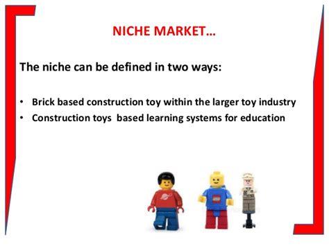 niche design meaning lego niche marketing