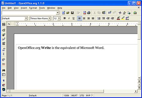 overview  openofficeorg