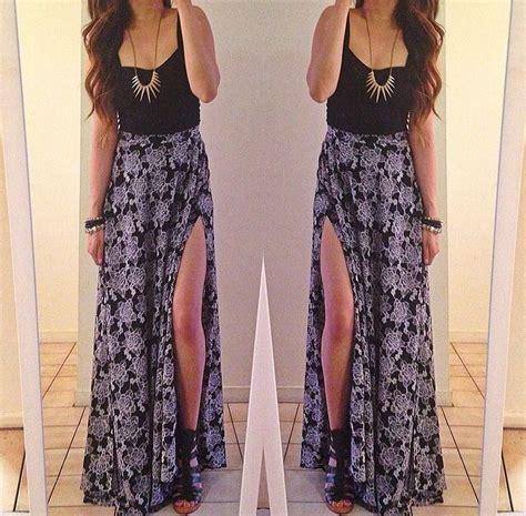 Konika Maxy Maxi Dress black crop top and maxi skirt fashion