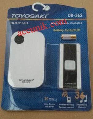 Bel Rumah Tanpa Kabel I Doorbell Wireless Remote 9 jual bell wireless rumah tanpa kabel toyosaki 342 svt jual stungun kamera pengintai stun gun