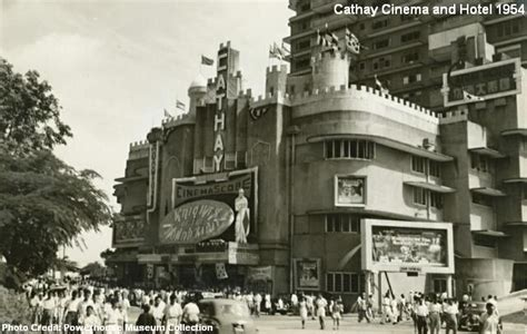 history of new year in singapore the cathay cinema on orchard road in 1954 singapore
