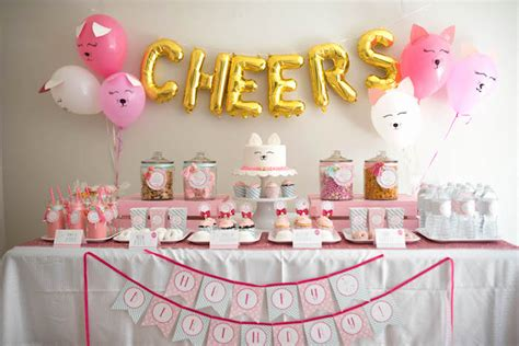 kitty themes for june kara s party ideas sweet kitty cat birthday party kara s