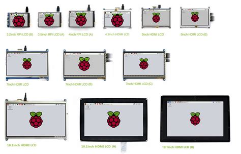 7inch Hdmi Lcd C 1024x600 Ips Supports Various Systems waveshare raspberry pi 7inch hdmi lcd c 1024 600 touch