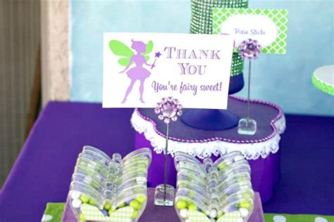 7th Birthday Party Giveaways - tinkerbell party favors 600x400 kara s party ideas