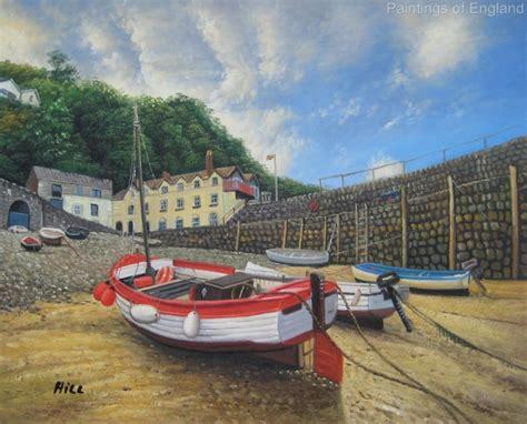 ebay boats devon clovelly devon oil painting fishing boats landscape