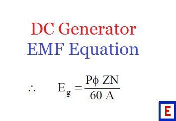 emf equation of motor emf equation of a d c generator electrical edition