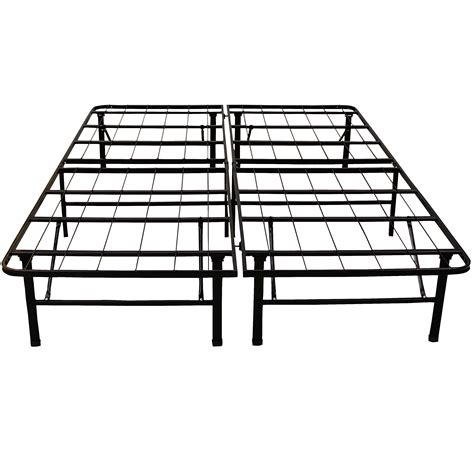 Heavy Duty Metal Bed Frame Classic Brands Hercules Platform Heavy Duty Metal Bed Frame Mattress Foundation