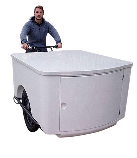 banco big banco big foot per triciclo roma da allestire cassone