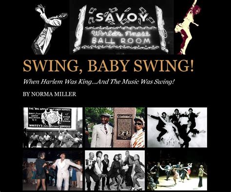 libro the millers dance a swing baby swing by norma miller entertainment blurb books