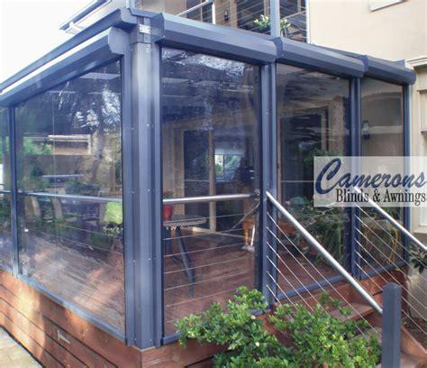 Enclosed Porch Plans camerons blinds amp awnings ziptrak alfresco blinds