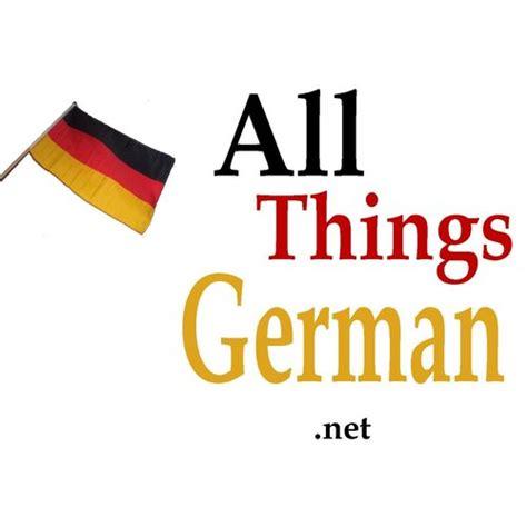 all stuff all things german allthingsgerman