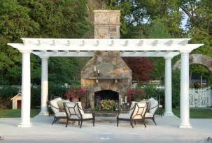 Outdoor Fireplace Pergola by Installing An Outdoor Fireplace Viva La Fireplace Bob