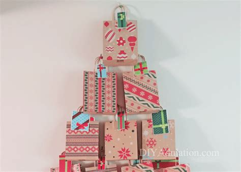 Inexpensive Advent Calendar Gifts Diy Tree Advent Calendar Diy Adulation