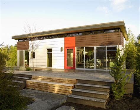 shed roof homes jetson green port townsend modern dwelling shed