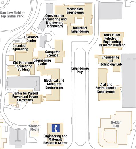 texas tech map of cus maps about the college whitacre college of engineering ttu
