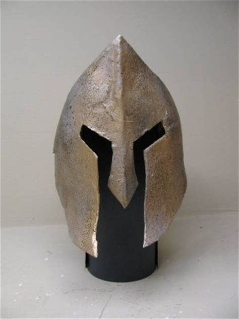 How To Make A Spartan Helmet Out Of Paper - make your own spartan helmet ancient greece for