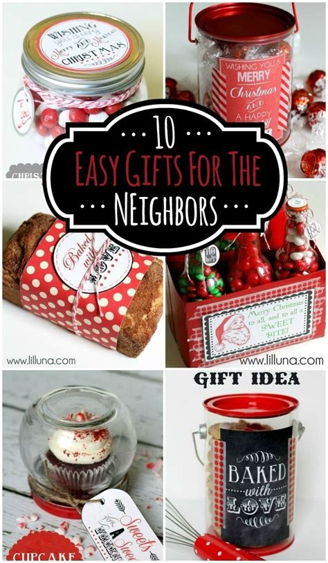 10 easy neighbor gifts cute simple ideas for