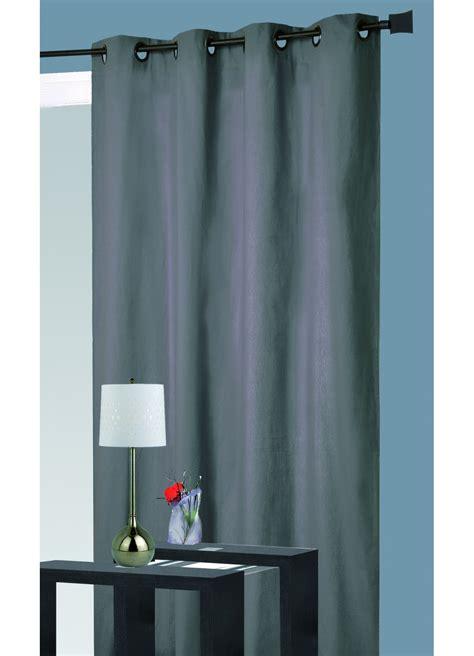 rideau isolant phonique thermique gris p 233 trole