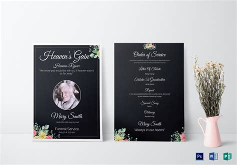 funeral card template psd 28 funeral invitation templates psd ai free
