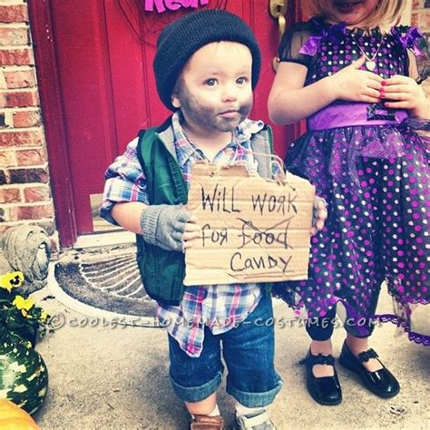best toddler boy ideas easy last minute toddler costume idea hobo coolest costumes toddler
