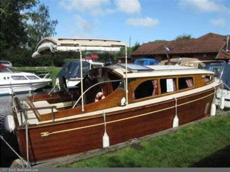 boat accessories wroxham wooden broads cruiser moore and sons 22ft cabin in sa 244 ne