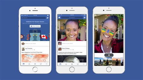 facebook layout on iphone facebook tests msqrd selfie filters and opening your
