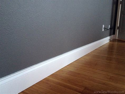 how tall should baseboards be tall baseboards crown molding tips tricks sew woodsy