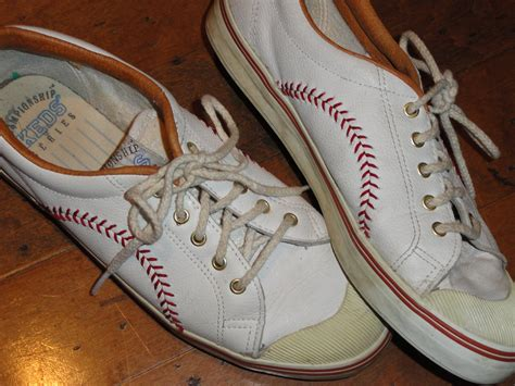 baseball sneakers baseball stitch leather sneakers chionship keds series
