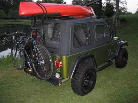 jeep kayak rack 50 best my jeep cj 8 jeep scrambler images on pinterest