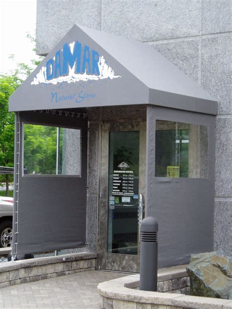Commercial Canopies And Awnings by Evanston Awnings Commercial Canopies