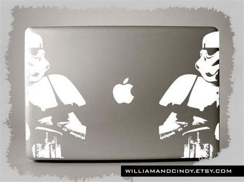 Stiker Wars Sticker Laptop Macbook Notbook Dll wars stormtrooper macbook pro decals available for retina air and pc models in 11 quot 13