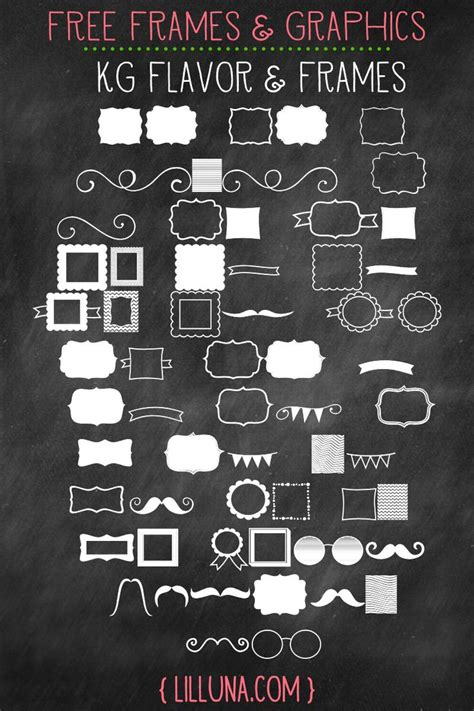 free font design elements 17 best free psd frames templates images on pinterest