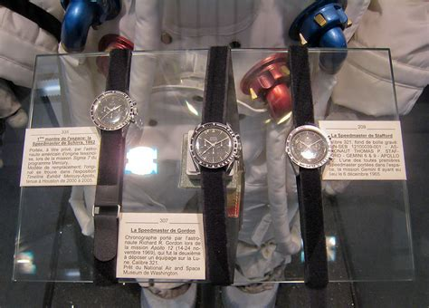 File:Omega Speedmasters of Schirra, Gordon and Stafford   Wikimedia Commons