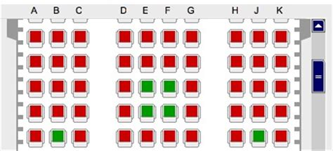 or green accessibility of lufthansa seat selections